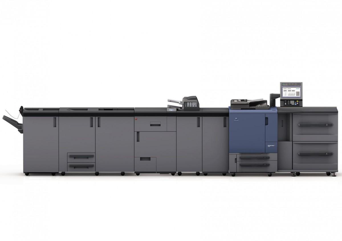 Kolorowy system do druku cyfrowego bizhub PRESS C1060 / C1070 / Pod Konica Minolta