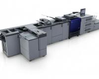 Kolorowy system produkcyjny do druku cyfrowego Accurio Press C3070/C3080/C3080P od Konica Minolta