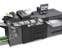 prezentacja systemu druku cyfrowego bizhub PRESS 1052