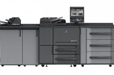 Monochromatyczny system druku cyfrowego bizhub PRESS 1052